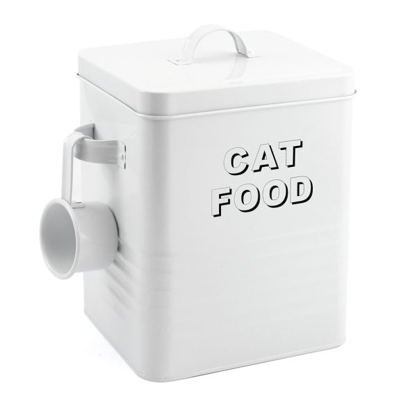 HOME SWEET WHITE CAT FOOD