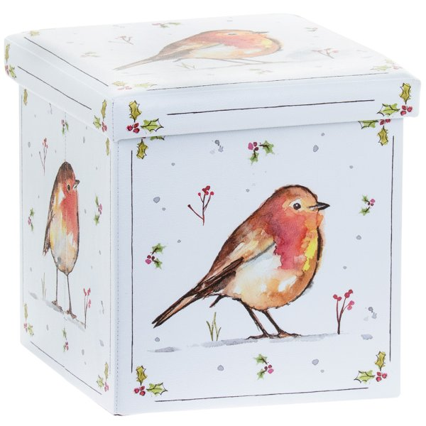 WINTER ROBINS FOLDING BOX