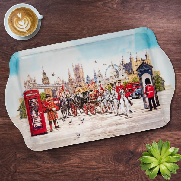 LONDON COLLAGE TRAY LGE