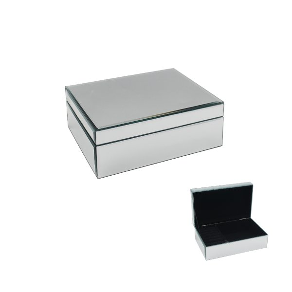 MIRROR JEWELLERY BOX LGE