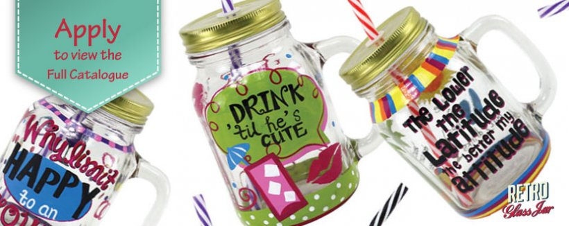 Retro Glass Jars