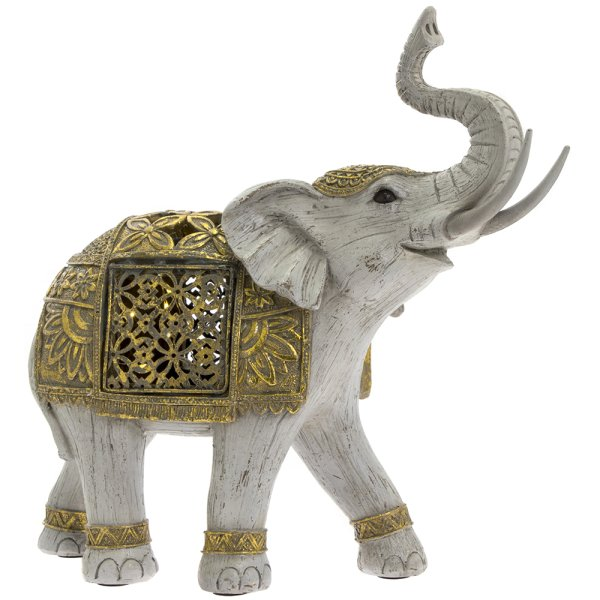 LED GOLD ELEPHANT LRG