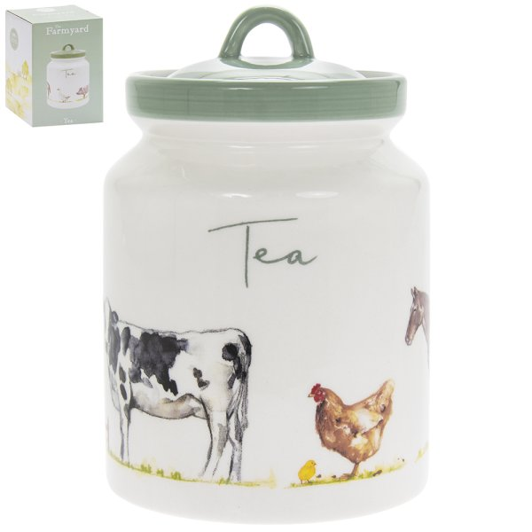 COUNTRY LIFE FARM TEA CANISTER