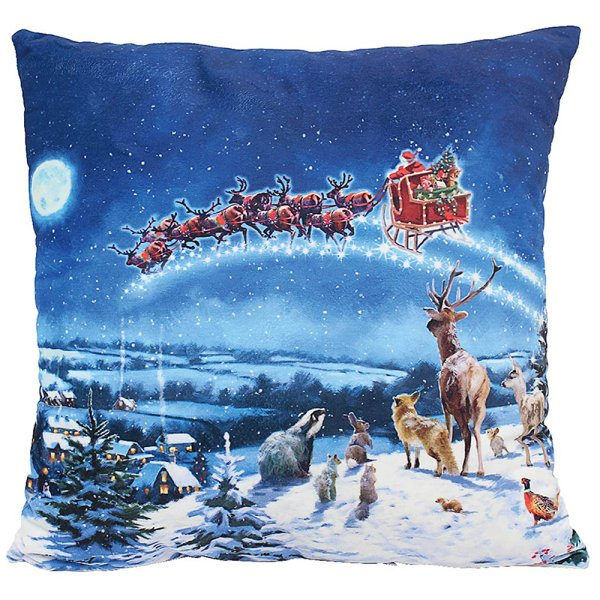 MAGIC OF XMAS LED CUSHION
