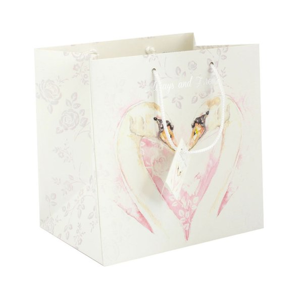 LOVING SWAN GIFT BAG MEDIUM
