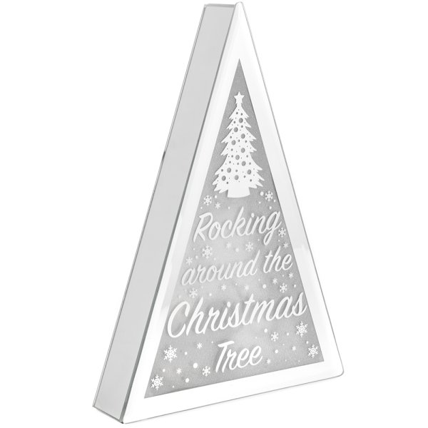 XMAS TREE LED TRIANGLE MEDIUM