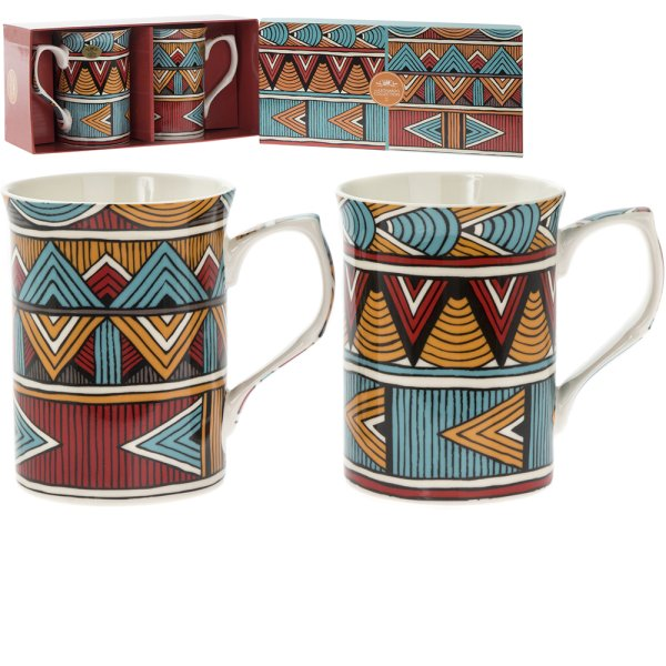 BALI MUGS SET OF 2