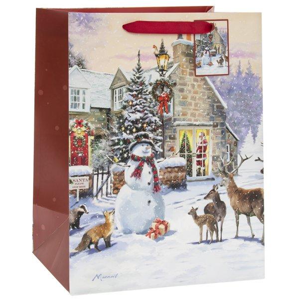 MAGIC OF CHRISTMAS PAPERBAG L