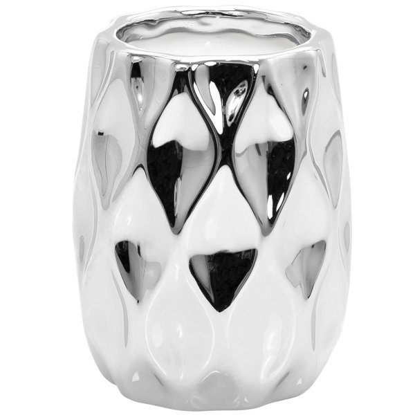 DESIRE WAVE CANDLE SILVER