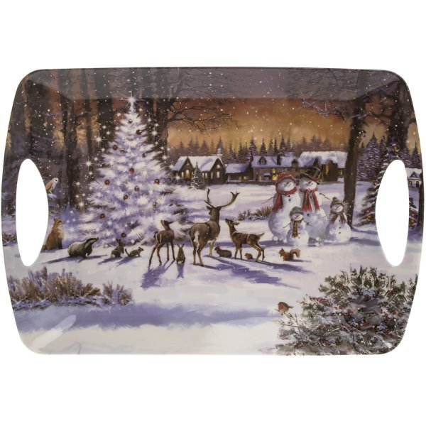 MAGIC CHRISTMAS TRAY LARGE