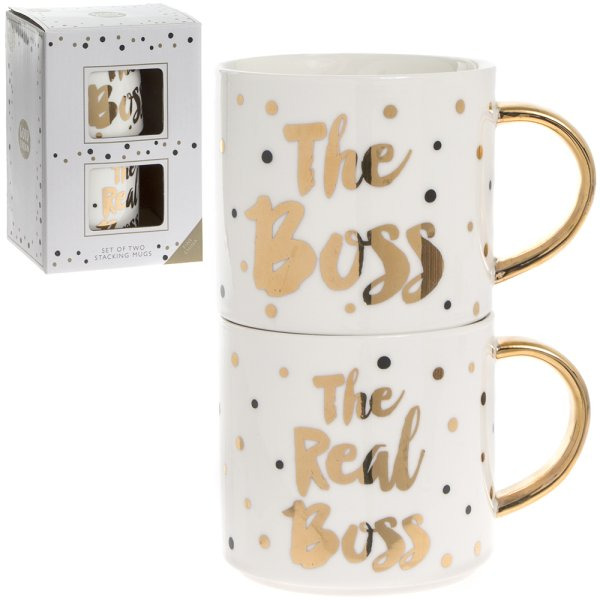 BOSS & REAL BOSS STACK MUGS S2