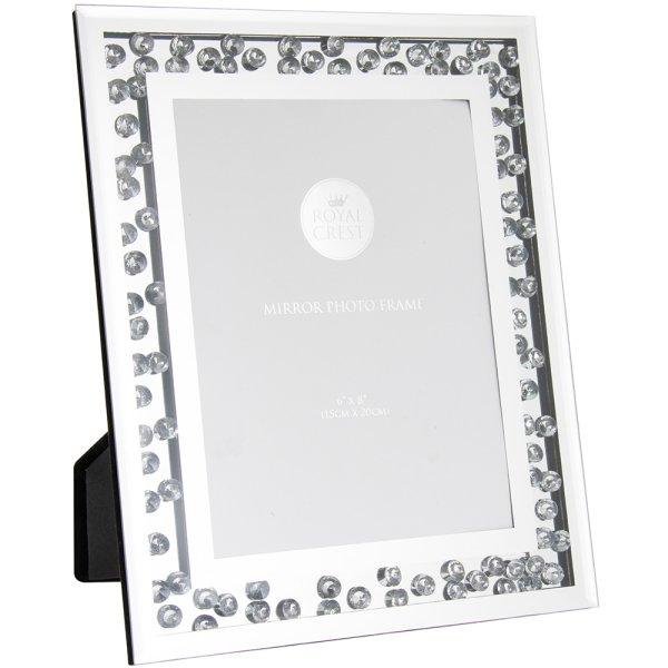 MIRROR PHOTO FRAME 6X8""