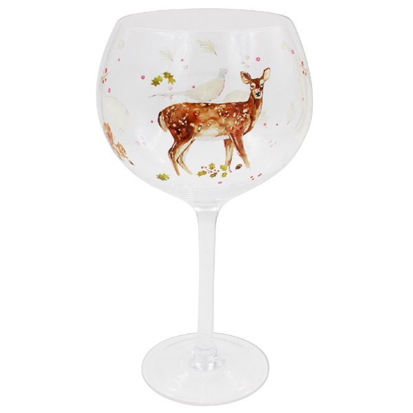 WINTER STAGS GIN GLASS